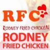 Logo for Rodney Fried Chicken (RFC)